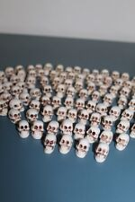 SET #29 MINI SKULL RESIN 100 items resina calaveritas craneos pendant necklace