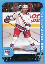 Tomas Kloucek 2001-02 Topps O-Pee-Chee Rookie Prospects #284 New York Rangers