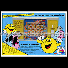ORLITRONIC PAC-MAN Jeu LCD Game (No GAME & WATCH) 1984 : Pub / Advert Ad #B633