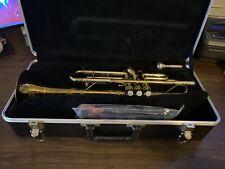 Besson 2-20 English Trumpet in Black Case