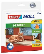 1Meter/0,59€ 10 METER TESA MOLL E-PROFIL GUMMIDICHTUNG 1-3,5mm BRAUN