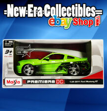 1:24 Scale - Die-Cast Metal - 2011 FORD MUSTANG GT - Maisto - Premiere DC Series