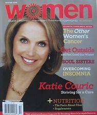 KATIE COURIC Winter 2008 WOMEN & CANCER Magazine