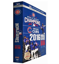 Chicago Cubs 2016 World Series Champions Commemorative 8-Disc DVD Set FREE SHIP!