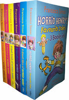Francesca Simon Horrid Henry 6 Books Set Collection 18 Titles Favourite jokes..