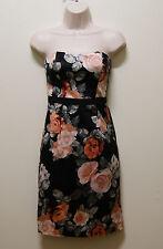 FOREVER NEW DRESS FLORAL OFF SHOULDER DRESS, Sz 6 (#0960)