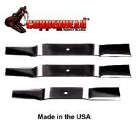 """3 Oregon 96-343 Gator G3 Blades fits Grasshopper 44/"""" Cut 320233 320235 320320"""
