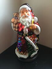 Thomas Pacconi 30 Years Classics 2004 Blown Glass Collectible Santa Claus
