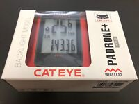 CAT EYE CC-PA110W PADRONE+ 526-00084 Cycle Computer Speedometer CATEYE JAPAN