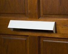 Letterbox Cowl Visor Guard - Letter Box Cover for Extra Security - White