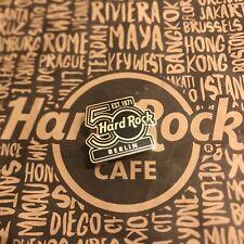 Hard Rock Cafe HRC BERLIN 50TH ANNIVERSARY LOGO Pin Limited Geburtstag