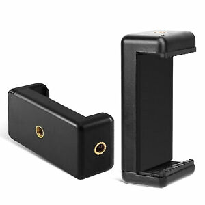 Universal Adapter Mount Phone Clip Holder Stand for iPhone Tripod Camera