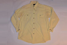 MEN'S VINTAGE WILLIS & GEIGER 2-POCKET WORK SHIRT! WELL USED! LONG SLEEVE! S