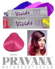 1 Haartönung PRAVANA CHROMA SILK Vivids 90ml MAGENTA Pink Naturnah Haarfarbe