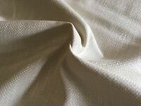 Free Shipping Soft White Luxurious Woven Brushed Cotton  Linen Upholstery Drapery Fabric 2-14 yards Romo 2484 Linara in Oyster