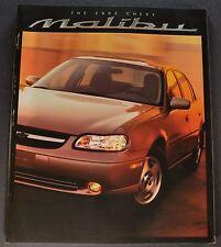 2002 Chevrolet Malibu Catalog Sales Brochure LS Excellent Original 02