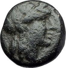 ANTIOCHOS III Megas 222BC RARE R1 Ancient Greek SELEUKID King Coin APOLLO i62202