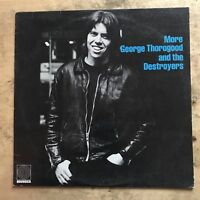 More George Thorogood And The Destroyers 1980 Vinyl LP Rounder Records 3045