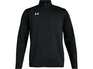 Under Armour UA Hustle Fleece 1/4 Zip Pullover Mens 1310071 - New 2021