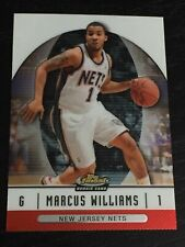2006-07 Finest MARCUS WILLIAMS RC #74 basketball card NEW JERSEY NETS rookie F1