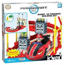 MARIO KART WII MARIO VS THWOMPS BUILDING SET 139pc Limited collectible Toy