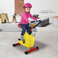 Kids Exercise Bike Fitness Exercise Equipment w/Adjustable Height Seat Kids Gift
