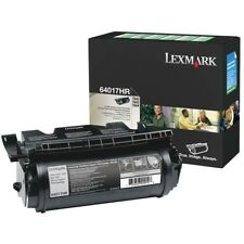 Lexmark Genuine 64017HR H/Yield Black Toner For T640 T642 T644 - 21,000 pages