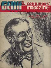 Genii The Conjurors' Magazine A.M.A.S. Dorny Magician January 1956 Vol 20 No. 5