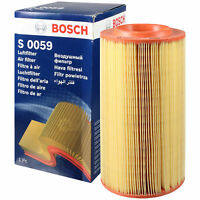 Original BOSCH Luftfilter Filter F 026 400 059 Air Filter