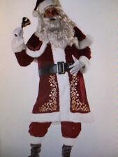 Herren Weihnachtsmann 7 Stück Kostüm Outfit