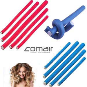 Thick Flex Rod Spiral Twist Curls Wavy Hair Flexi Foam Roller Curle 10 Inch 6Pc