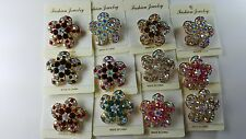wholesale Lot of 12 pcs pretty Vintage  Brooches/pin  for Wedding .