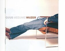 CD GUUS MEEUWIS wijzer HOLLAND 2005 EX+