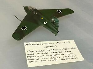 Messerschmitt Me.163B Komet, 1/72, built & finished for display, fine airbrushed