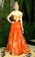 Alexander McQueen Spring 2013 Poppy Floral Long Maxi Dress Gown US 2 4 / IT 40