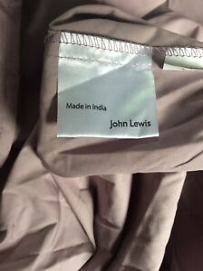 John Lewis 100%Egyptian Cotton Centre Pleat Valance Deep Fitted .freeP&P