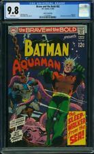 BRAVE AND THE BOLD #82 CGC 9.8 Batman & Aquaman! NEAL ADAMS ART! PEDIGREE COPY!
