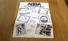 ABBA An exciting New Offer 1st UK LP INSERT. t shirt sweatshirt cap pullover ++