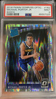 2018 Donruss Optic SHOCK Prizm Michael Porter JR Rookie PSA 9 MINT Nuggets RC