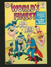 World's Finest Comics # 113 - 1st Bat-Mite & Mr. Mxyzptlk team-up VG/Fine Cond.