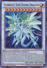 1x (M/NM) Stardust Sifr Divine Dragon - SHVI-EN096 - Ultra Rare - 1st Edition  Y