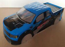 1/10 RC car 190mm on road drift Truck Body Shell Blue/Black