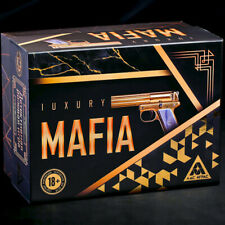 Mafia Lux Game Set with Masks - Russian Verbal Card Game