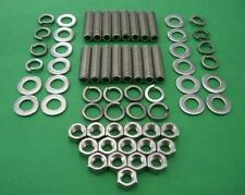 V8 exhaust studs & fasteners FORD WINDSOR, 289 -302, CLEVELAND, CHEVY