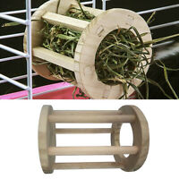 Pet Feeder Food Grass Hay Manger Rack for Rabbits Chinchillas Big Guinea Pigs US
