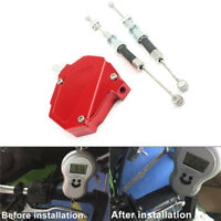 Universal Red CNC Clutch Lever Booster Easy Pull Cable Asisst Motorcycle Bike 1x