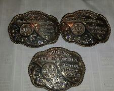 NORTHWEST  SUMMER CELEBRATION HORSE   SHOW Cowboy Western Trophy  Belt Buckle