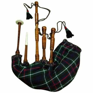 HM GREAT HIGHLAND BAGPIPES ROSE WOOD NATURAL COLOR/BAGPIPES ROSEWOOD SCOTTISH