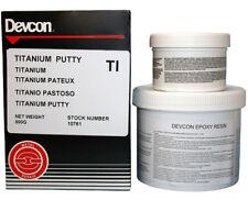 Devcon Titanium Putty 0,5 kg High-Tech, titanverstärkter Epoxid-Kitt