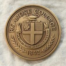 MACO. Roanoke College Award Medal